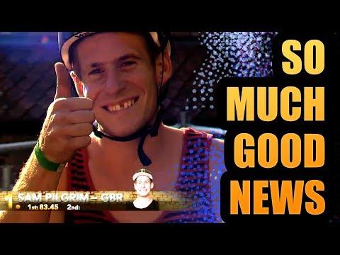 SO MUCH GOOD NEWS!