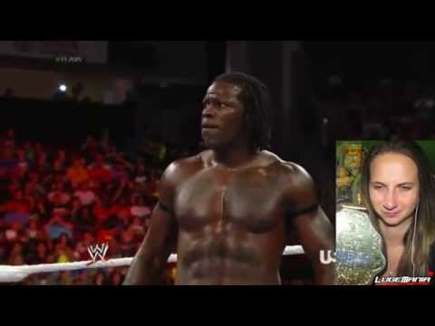 WWE Raw 7/28/14 Bo Dallas vs Rtruth (BREAKS THE STREAK) - lugeyps3  - 0NqAgHoypzE -