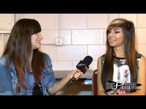 Christina Grimmie Interview #2 with Rock Forever Magazine