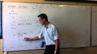 Rational Functions (1 of 3)