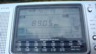 KISS FM 89 - received in Germany (2000 km)