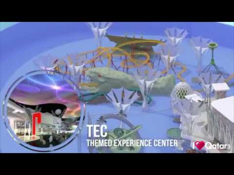 Doha Oasis and Theme Park coming soon - YouTube