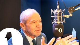 Greg suggests autobiography puns to Lord Alan Sugar