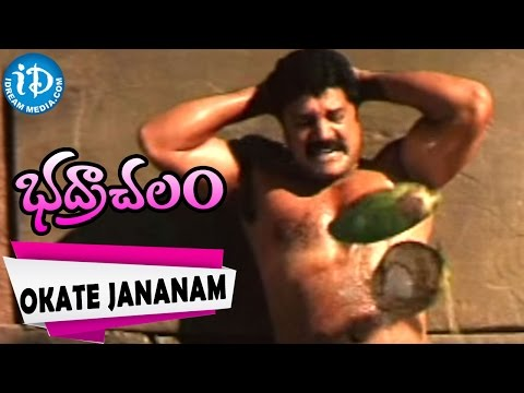Bhadrachalam Songs - Okate Jananam Video Song | Srihari, Sindhu Menon | Vandemataram Srinivas