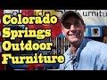 Colorado Springs Outdoor Furniture