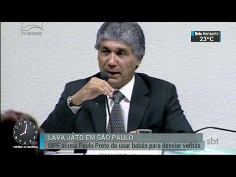 Justiça decide nos próximos dias se recebe denúncia contra Paulo Preto | SBT Brasil (23/03/18)