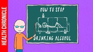 5 EASY TIPS To Quit Drinking Alcohol ONCE AND FOR ALL!!