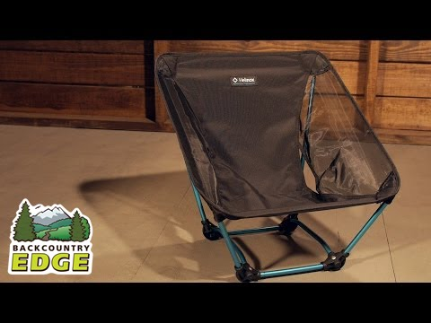 helinox ground chair - youtube