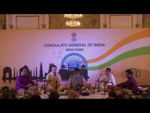 2018 JUNE 08  Indian Consulate NYC Baithak Raga Sahana Kanada