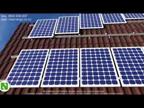 Installing solar panels on tile roofs