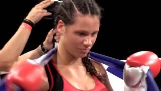Marianna Kalergi WKN Champion vs Ashley Gilson