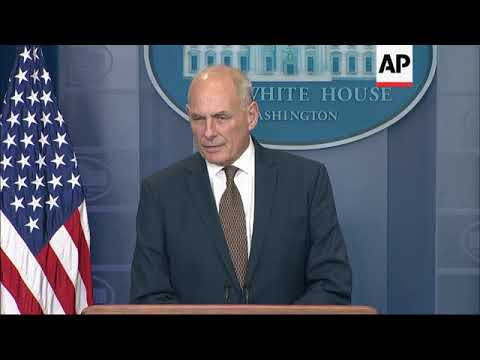 Kelly: Praises Pakistan, Nkorea Threat