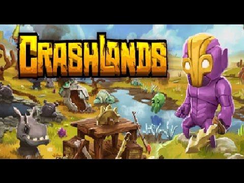 Crashlands Ep 44 Going fishing, thrombyte fibrin and new wepon
