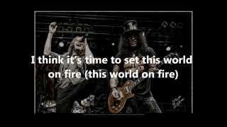 Slash - World On Fire Lyrics