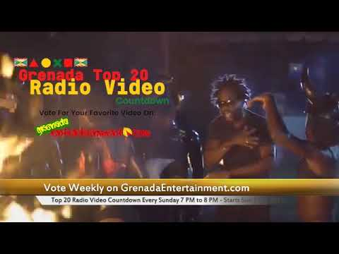 Grenada Top 20 Radio Video Countdown Promo  - Start Date Independence Day Sun 7 Feb 2021