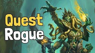 Quest Rogue by cocosasa Deck Spotlight - Hearthstone