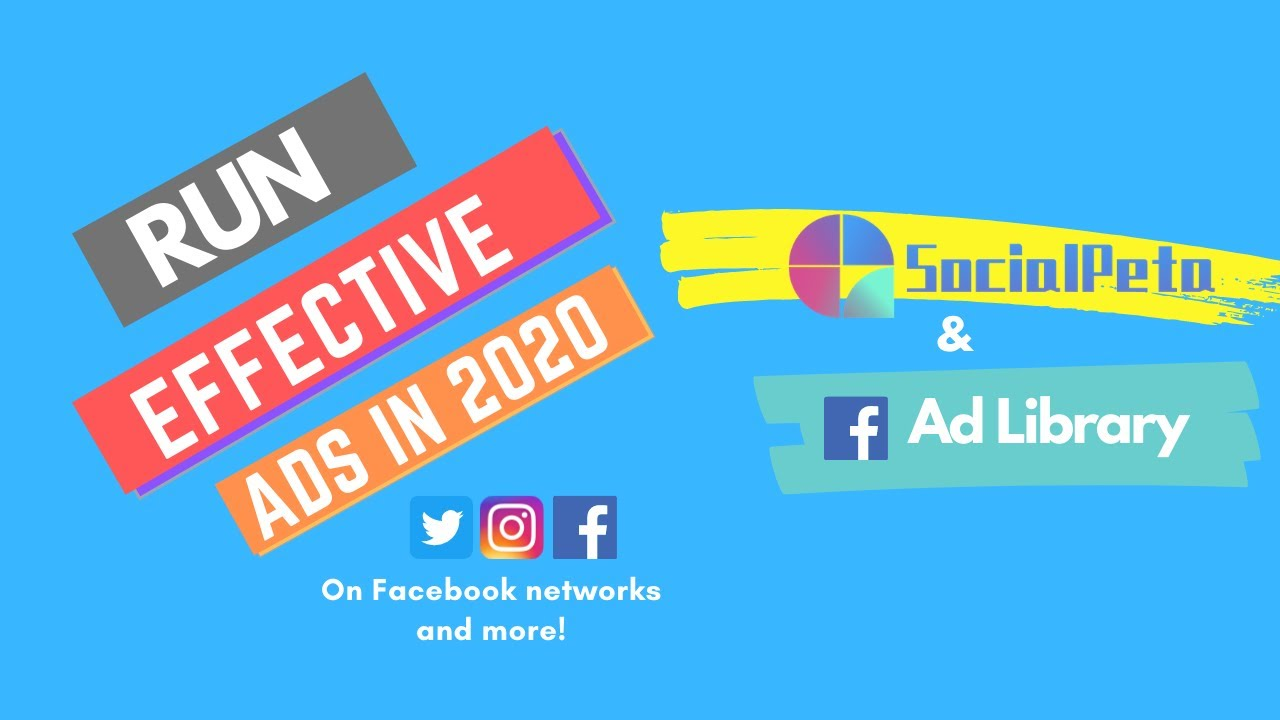 How to run Effective Ad Campaigns on Facebook | 2020.