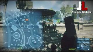 Battlefield 3 - M224 Mortar Gameplay