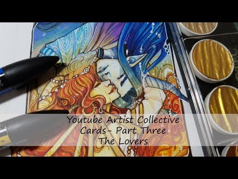 Youtube artist collective - Tarot- The Lovers