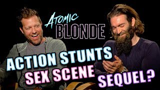 ATOMIC BLOND Exclusive Interview: David Leitch & Sam Hargrave