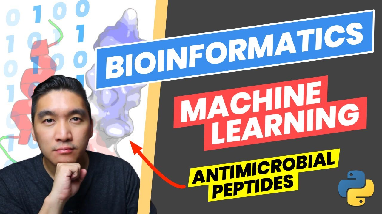 How to Build a Machine Learning Model to Predict Antimicrobial Peptides (End-to-end Bioinformatics)