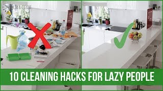 10 habits of LAZY PEOPLE who always have a CLEAN HOME   OrgaNatic