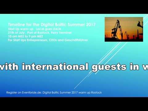 Digital Baltic Summer 2017 Opening warm up