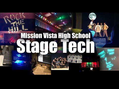 Mission Vista High School Stage Tech