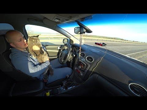 Форд Фокус 2 1.8 125 л.с. рестайлинг.  Замер от 0-100 км. Часть 5.