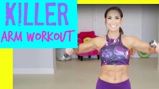 Killer Arm Workout | Natalie Jill