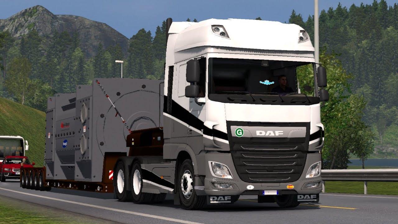 [1 31] Euro Truck Simulator 2   Daf XF Euro 6 Reworked v2 2   Mods