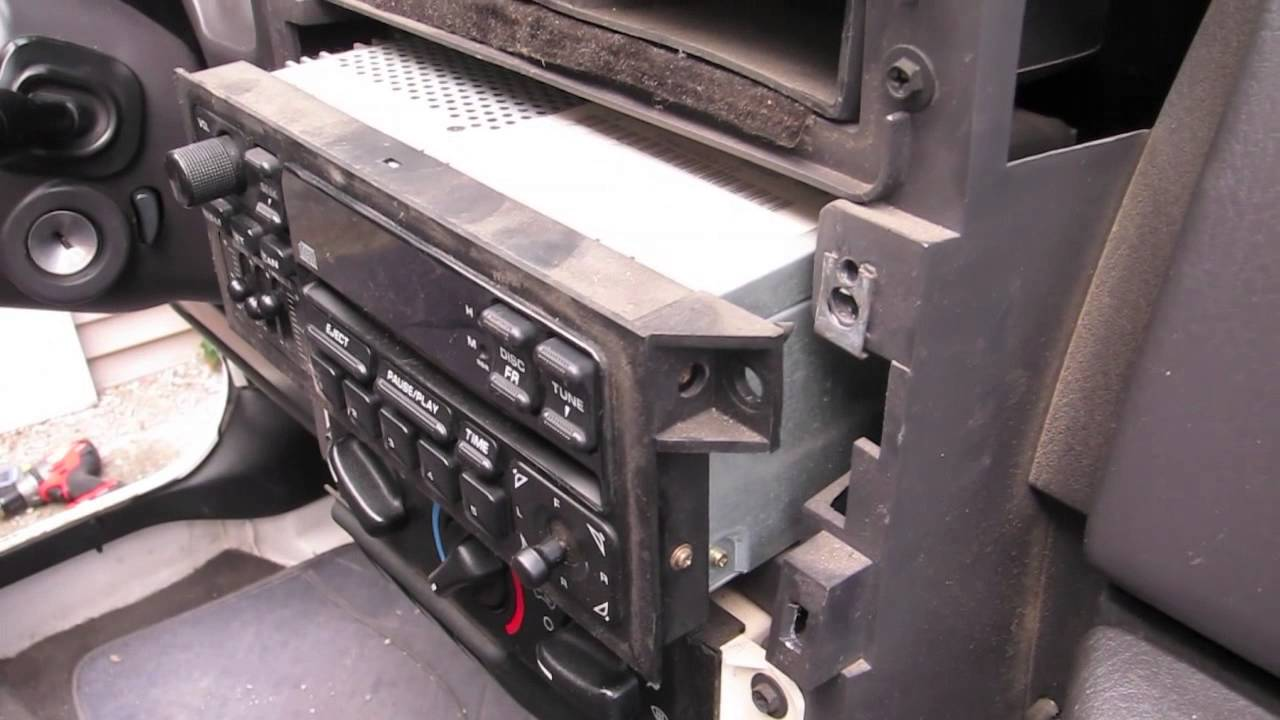 2002 Jeep Wrangler TJ Stereo Installation with Satellite Radio  Jeep Wrangler Radio Wiring Harness on