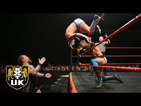 Ashton Smith & Ligero vs. Mark Coffey & Wolfgang: NXT UK, Dec. 12, 2018