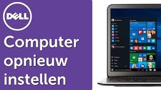 Windows 10 - Jouw computer of tablet opnieuw instellen (resetten)