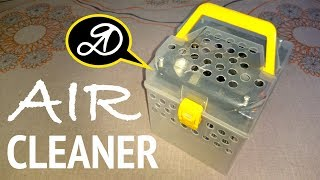 Mini air washer of the disks DIY. How to make a humidifier