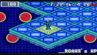 A Quick Look at Rockman.EXE 4.5 Real Operation