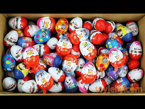 New Surprise Eggs Super Kinder Joy for Boys & Girls Unboxing Learn Colors Play Doh Toys For Kids