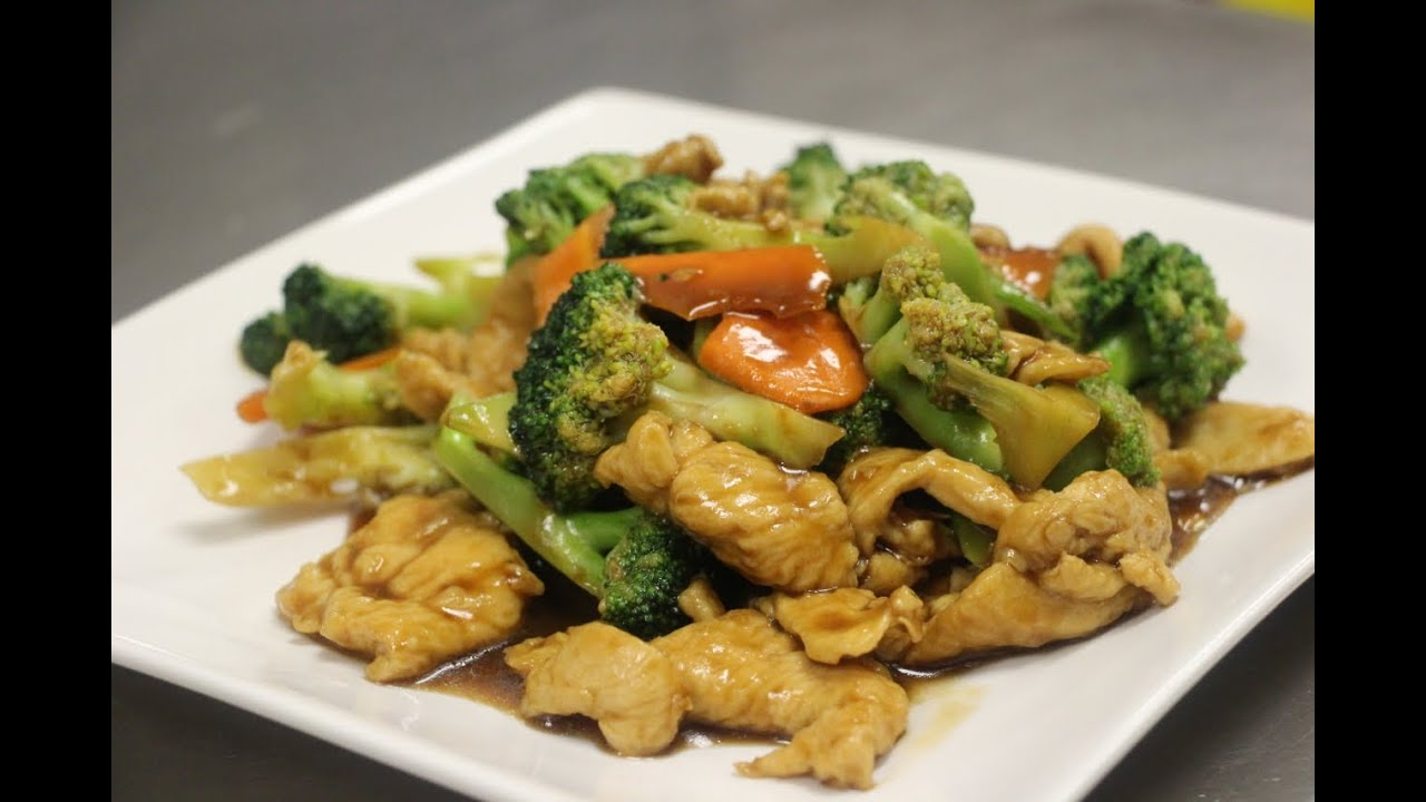 How To Make Chicken With Broccoli - Youtube-8187