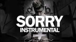 Justin Bieber - Sorry Instrumental (HQ)