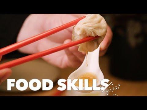 How To Eat Soup Dumplings Like A Pro | Food Skills