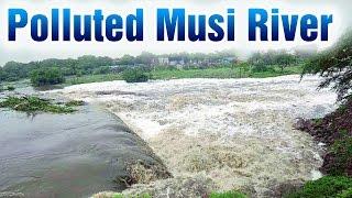 Water Pollution in Musi River - Janam Manam | HMTV News