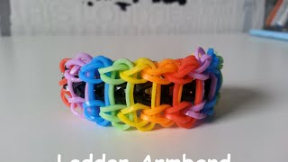 Loom Bands NL Ladder Armband