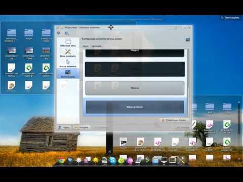 kde 4.7 beta 1 - desktop - arch linux