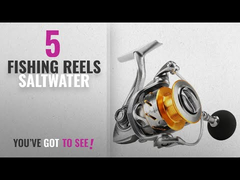 Top 10 Saltwater Fishing Reels [2018]: SeaKnight Rapid Saltwater Spinning Reel, 6.2:1 High Speed,