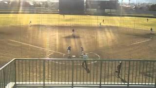 第29回中国地区大学野球新人戦二回戦 岡山大学対東亜大学 高