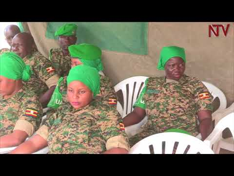 African Union gives medals to Uganda soldiers