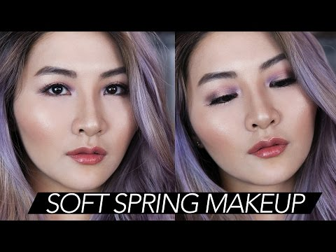 Purple Haze Soft Spring Makeup Tutorial