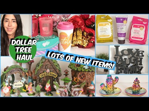 DOLLAR TREE HAUL MUST SEE NEW ITEMS 2019
