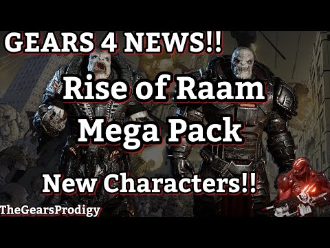 GEARS 4 NEWS!! New Characters, New Pack, Graphic Novel ~ Gears of War 4