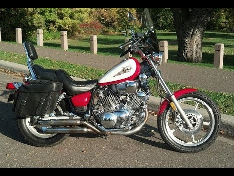 yamaha virago 750 ride youtube. Black Bedroom Furniture Sets. Home Design Ideas